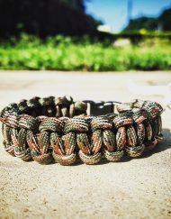 One Color Paracord Bracelets