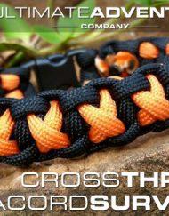 Cross Thread Paracord Bracelet