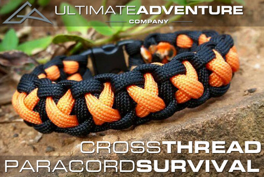Cross Thread Paracord Bracelet