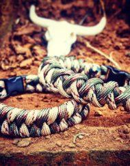 EDC Gear, Mens bracelet, mini animal skull