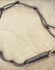 Paracord EDC Gear, Gray Paracord Lanyard, Paracord Belt Lanyard